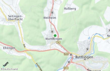 Stadtplan Wurmlingen