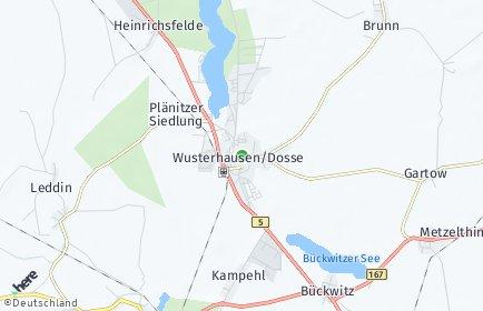 Stadtplan Wusterhausen/Dosse