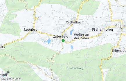 Stadtplan Zaberfeld