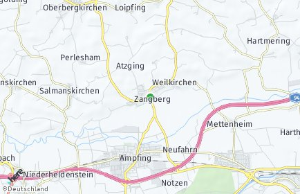 Stadtplan Zangberg