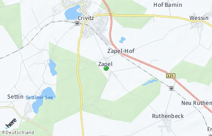Stadtplan Zapel