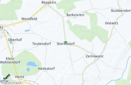 Stadtplan Zarnewanz