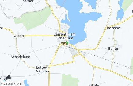 Stadtplan Zarrentin am Schaalsee