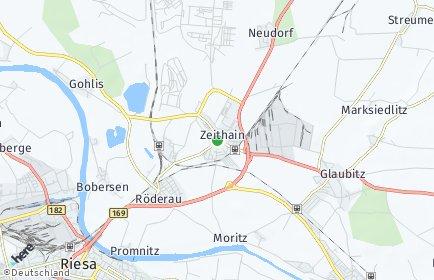 Stadtplan Zeithain