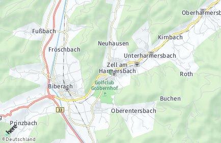Stadtplan Zell am Harmersbach