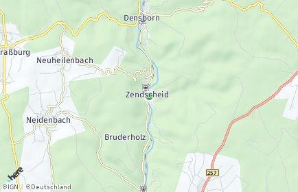 Stadtplan Zendscheid