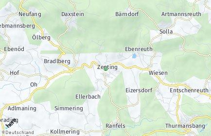 Stadtplan Zenting