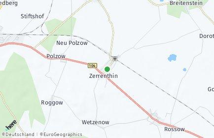 Stadtplan Zerrenthin