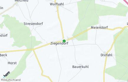 Stadtplan Ziegendorf