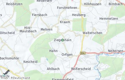 Stadtplan Ziegenhain