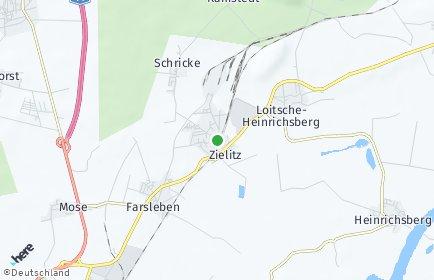 Stadtplan Zielitz