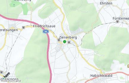 Stadtplan Zierenberg
