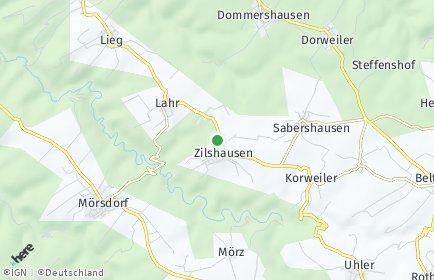 Stadtplan Zilshausen