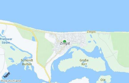 Stadtplan Zingst
