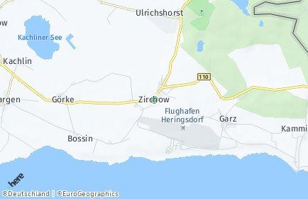 Stadtplan Zirchow