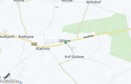 Stadtplan Zölkow