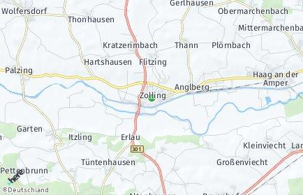 Stadtplan Zolling