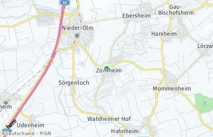 Stadtplan Zornheim