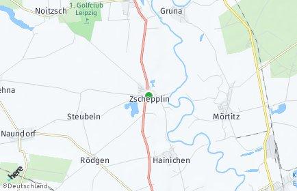 Stadtplan Zschepplin