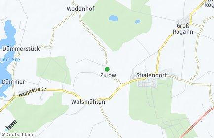 Stadtplan Zülow