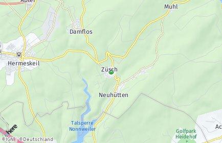 Stadtplan Züsch