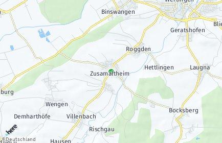 Stadtplan Zusamaltheim