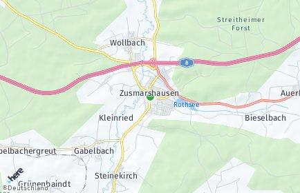 Stadtplan Zusmarshausen