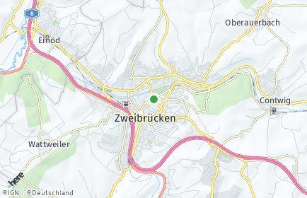 Stadtplan Zweibrücken