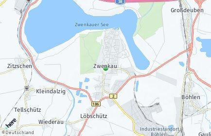 Stadtplan Zwenkau