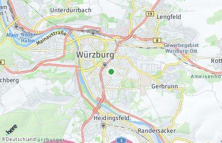 Stadtplan Würzburg