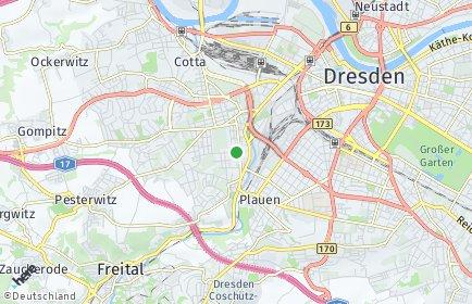 Stadtplan Dresden OT Löbtau-Süd