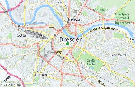 Stadtplan Dresden OT Innere Altstadt