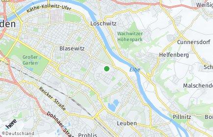 Stadtplan Dresden OT Tolkewitz/Seidnitz-Nord