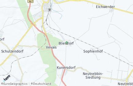 Stadtplan Bliesdorf