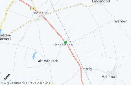 Stadtplan Lindendorf