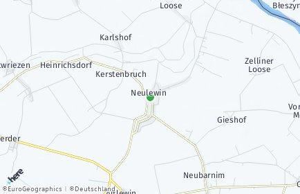 Stadtplan Neulewin