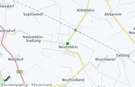Stadtplan Neutrebbin