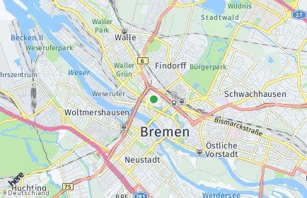 Stadtplan Bremen