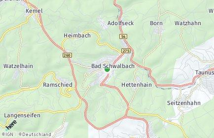 Stadtplan Rheingau-Taunus-Kreis