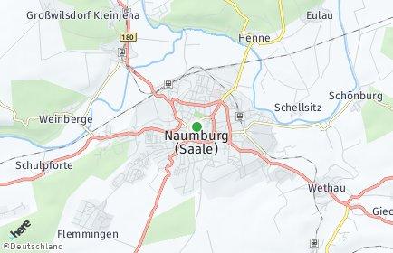 Stadtplan Burgenlandkreis