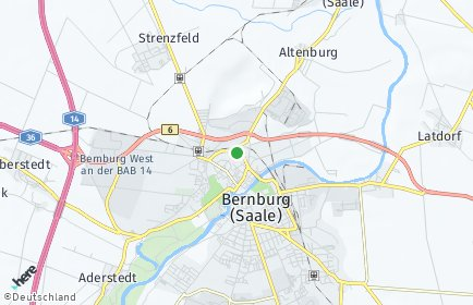 Stadtplan Salzlandkreis