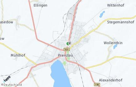 Stadtplan Uckermark