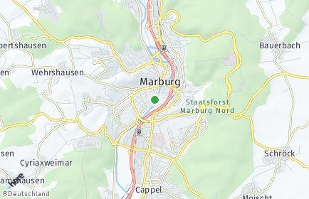Stadtplan Marburg-Biedenkopf
