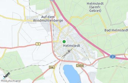 Stadtplan Helmstedt