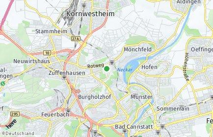 Stadtplan Stuttgart OT Rot