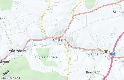 Stadtplan Arnstein (Unterfranken)
