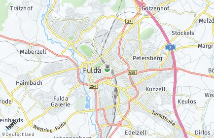 Stadtplan Fulda