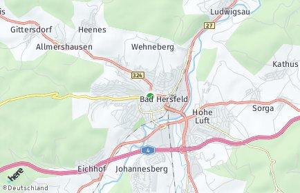 Stadtplan Hersfeld-Rotenburg