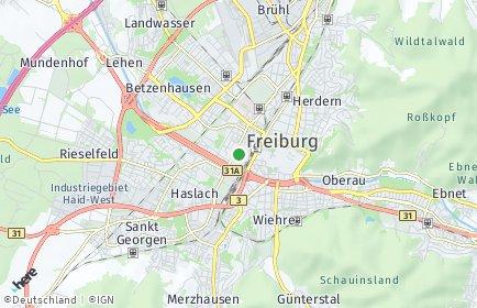 Stadtplan Breisgau-Hochschwarzwald