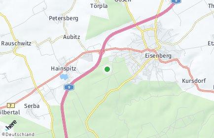 Stadtplan Saale-Holzland-Kreis